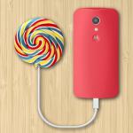 Motorola начинает выпускать Lollipop для Moto G в Индии и США
